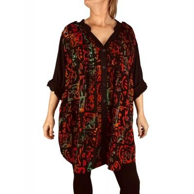 Women's Plus Size Blouse - Lani Combo Katherine