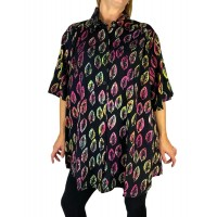 Maple Leaf New Tunic Top