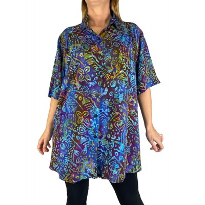 Mayan Beach New Tunic Top