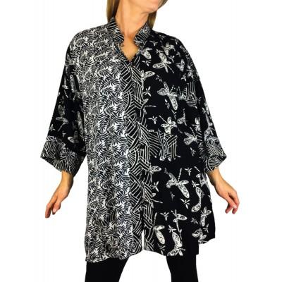 Women's Plus Size Blouse -Fern-Fly-Orinda