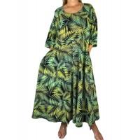 Palm Delia Dress With Pockets