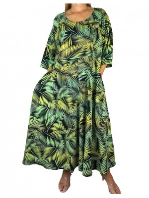 Palm Delia Dress With Pockets