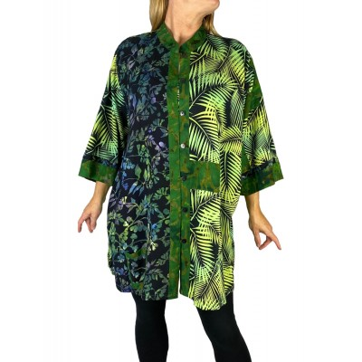 Palm Combo Orinda Blouse