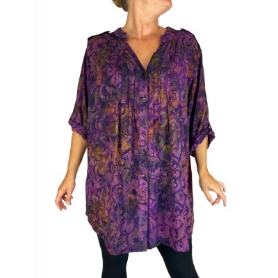 Purple Haze Katherine Blouse