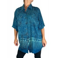 Batik Lighter-Weighted-Gauzy-SeaBreeze-Tunic-Top