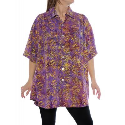 Women's Plus Size Tunic -Spring Fever