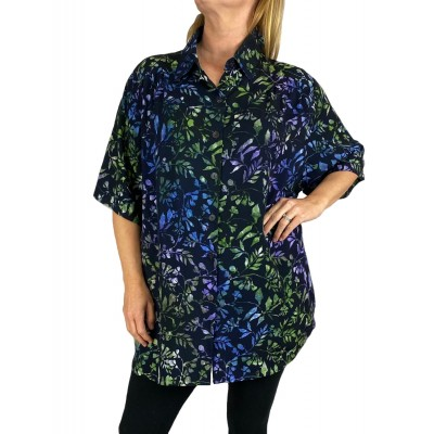 Women's Plus Size Tunic - Spring Vine