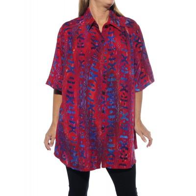 Women's Plus Size Tunic - Tomiko