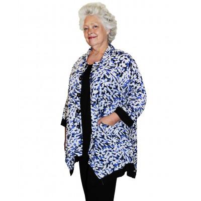 Fleur Bleue COMBO Zinnia Jacket -Voile Rayon