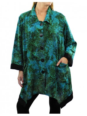 Green Mist COMBO Zinnia Jacket